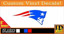 New England Patriots Vinyl Sticker decal