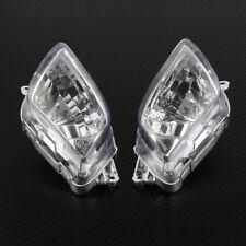 Mirror Front Turn Signal Blinker Lens For Honda CBR 1100XX Blackbird 97-06 Clear