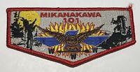 OA Lodge 101 Mikanakawa Flap Texas Mint WWW red  BC4