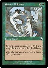 SPIDERSILK ARMOR Mercadian Masques MTG Green Enchantment Com