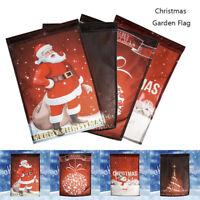 Santa drapeau guirlande bannière Bunting bonhomme de neige Noël décorations