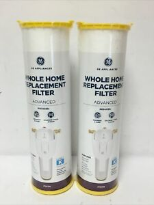 Lot Of (2) GE FTHTM Whole House Filter. Advanced Use in GXWH50M/GXWH70M.