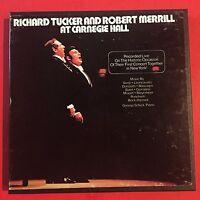 RICHARD TUCKER ROBERT MERRILL Carnegie Hall  LONJ 490232  Reel To Reel 7 1/2 ips