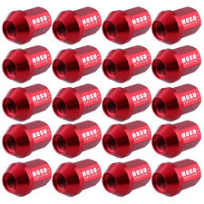 20Pcs D1 Red JDM Racing Race Wheel Lug Nuts M12X1.5mm For HONDA CIVIC ACURA