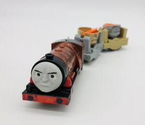 Thomas & Friend Trackmaster Motorized Train Hurricane & Both Smelting Tenders