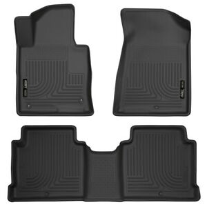 Husky WeatherBeater Floor Liners for 2015-2019 Sonata/Optima [Front and 2nd Row]
