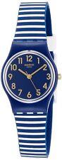 Swatch Unisex Ora D'Aria Quartz Plastic Case Silicone Strap 30m Watch LN153