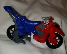 Bandai Power Rangers Dino Charge Cycle Dino Cycle Mega Blue & Red 7.5""