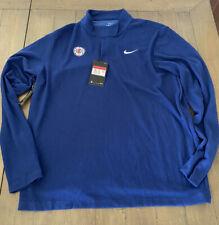 Nike Dri Fit Golf Tiger Woods LA Clippers Mens Large NBA Half Zip Jacket Shirt