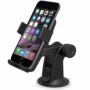 Windshield & Dashboard Phone Holder for Iphone 5 5S 6 Plus Samsung Galaxy S5 S4