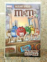 Marvel M & M Comic Book #1 M&M's Chocolate Peanut Hazelnut Spread SDCC NYCC 2019