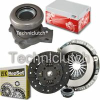 LUK 3 PART CLUTCH KIT AND FTE CSC FOR VAUXHALL VECTRA HATCHBACK 2.0I 16V