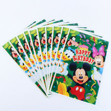 Mickey Mouse & Friends Minnie Goofy Kids Happy Birthday Party Bags Loot Bag