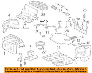 MERCEDES OEM 01-05 C320 Interior-Rear-Upper Trim Rivet 0009908492