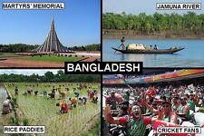 SOUVENIR FRIDGE MAGNET of BANGLADESH DHAKA