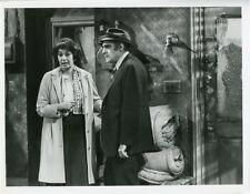 ABE VIGODA FLORENCE STANLEY FISH TV SHOW ORIGINAL 1977 ABC TV PHOTO