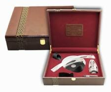 Deluxe Wine Accessory Leather Gift Set S/5 – Model AUS29