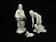 NEW Boehm Porcelains Shepherds Nativity Statue Sculpture Set
