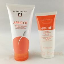 NUTRIMETICS Apricot Foaming Cleanser & Oil-Free Moisturizer SPF15 Promotion Set