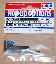 Tamiya 54719 MF-01x Motor Mount Cap Screw Set (MF01x/Jimny/G320), NIP