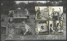 (BA2) GB QEII Stamps BRITAIN ALONE Prestige Booklet Pane ex DX51 2010