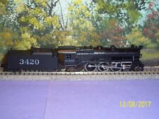MINITRIX N SCALE #51 2990 00   4-6-2 LOCOMOTIVE AT&SF #3420
