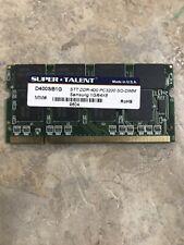 1GB DDR2 PC2-4200 DDR2-533mhz Sodimm Laptop Memory RAM - Super Talent