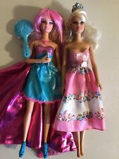Barbie THE PRINCESS & THE POPSTAR Transforming Tori Doll with sounds LOT