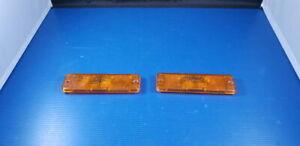 Paire de cabochons de clignotant ULO 3320015 VOLKSWAGEN POLO GOLF CADDY
