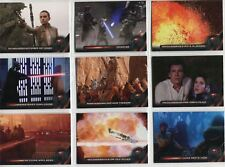 Star Wars Galactic Files Reborn Complete Galactic Moments Chase Card Set GM1-9