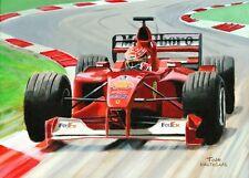 Original Painting Marlboro Ferrari F-2000 #3 Michael Schumacher (GER) Nagtegaal