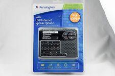 Kensington Vo300 Usb Internet Speakerphone Skype Ready Fast Shipping!