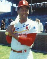 Jim Hicks DD 1969 St. Louis Cardinals Wrigley Field Autographed 8x10 Photo COA