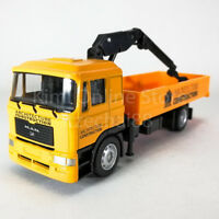 DSM 1:64 Die-Cast MAN Suspended Tow Truck Orange Color Model Collection New Toys