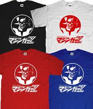 New Go Nagai Japan Mecha Retro Anime Mazinger Z Tranzor Super Robot T-shirt
