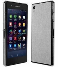 Skinomi Brushed Aluminum Full Body Skin+Screen Protector for Sony Xperia Z1S