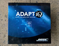 Bose ADAPTiQ * Audio Calibration System für Lifestyle acoustimass in OVP + 2 CDs