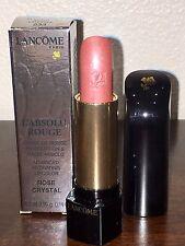 NIB Lancome L'Absolu Rouge Advanced Hydrating Lipstick 233 Rose Crystal FULLSIZE