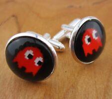Man Gifts - Retro Gaming Jewelry Pac-Man Cufflinks - Wedding Groomsmen Best