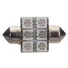 Azul SMD LED 31mm Festoon Bombilla LED Interior 12v