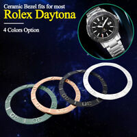 Ceramic Bezel Ring Insert For 38 mm Men Watches Loop Replacement Parts 4 Colors