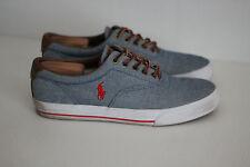 Polo Ralph Lauren 'Vaughn' Low Top Casual Sneaker- Light Denim Blue - 10.5D (X6)