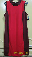 OLD NAVY red/maroon shift dress