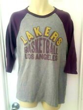 Los Angeles Lakers Womens T Shirt Size Medium Junk Food Retro 70's Style Jersey