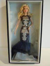 BIG SALE ! 2015 Mattel Barbie Fan Club Platinum Label Classic Evening Gown Doll