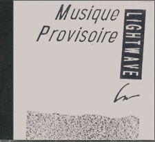 Lightwave Music Provisoire Rare Tangerine Dream