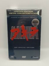 New- Akira (DVD, 2001, 2-Disc , Limited Edition Collectors Tin Special Edition)