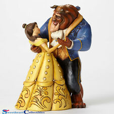 Jim Shore Disney Belle and Beast Dancing by Heart 4049619