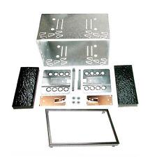 Autoradio Einbaurahmen Metall Schacht universal doppel DIN 2-DIN 180x103 14-003