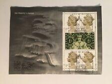 Stamp Show 2000 mini-sheet USED on FDI Surround Fair Stamps Good/Fine c/v£21+